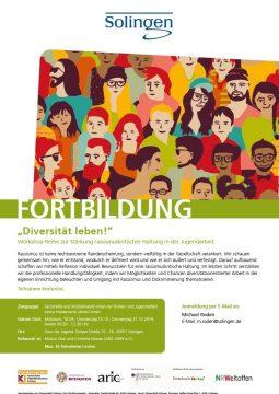 """Fortbildung """"Diversität leben!"""" @ Haus der Jugend"""