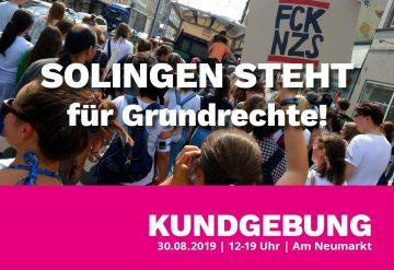 SOLINGEN STEHT für Grundrechte! Kundgebung @ Am Neumarkt