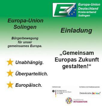 Gemeinsam Europas Zukunft gestalten @ Aula Gymnasium Schwertstraße