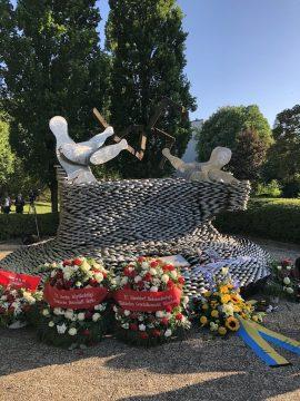 Gedenken an die Opfer des Brandanschlags von 1993