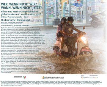 Fluchtursache Klimawandel - Online-Seminar @ Online per Zoom
