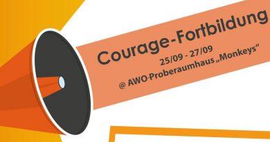 """Fortbildung zur """"Courage-Botschafter*in"""""""