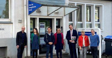 Dr. Guido Hitze, neuer Leiter der Landeszentrale für politische Bildung NRW, besucht das Projekt NRWeltoffen