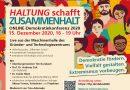HALTUNG schafft ZUSAMMENHALT – Online-Demokratiekonferenz 2020